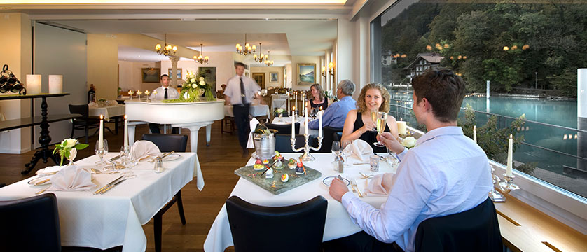 Hotel Du Lac, Interlaken, Bernese Oberland, Switzerland - restaurant.jpg
